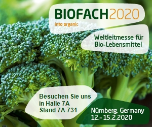 INFORMATION BIOFACH 2020