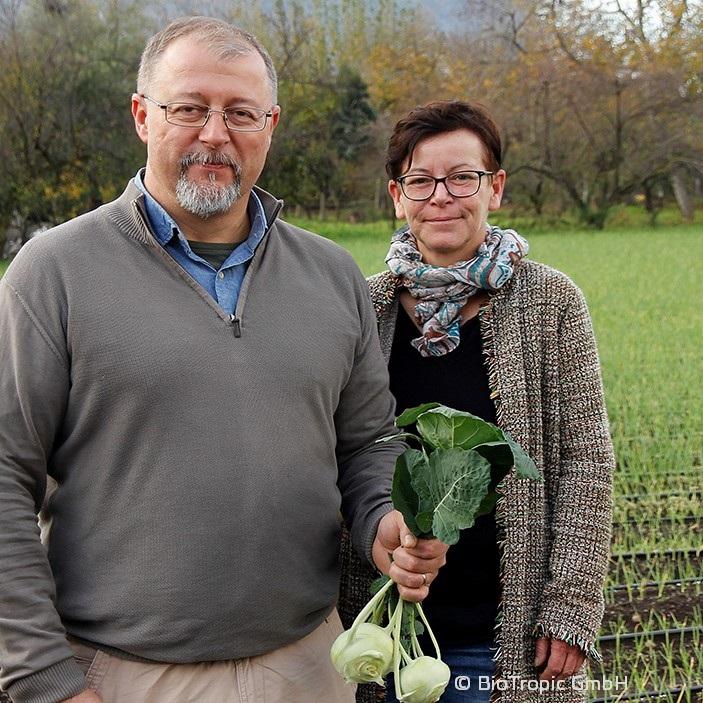 Mauro Finotti / Doris Thewes, Cultivation Advisor / Branch Manager Italy, BioTropic