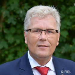Knut Schmidtke, Direktor für Forschung, Extension und Innovation, FIBL