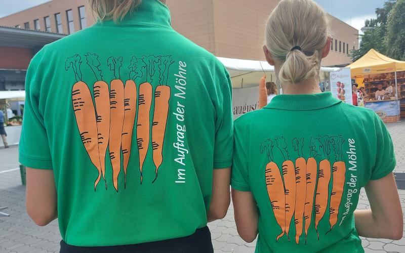 Terra T-Shirt mit Möhren
