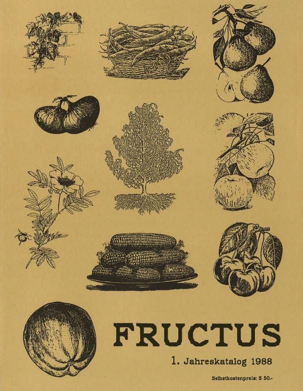 Titelblatt Fructus Katalog 1988