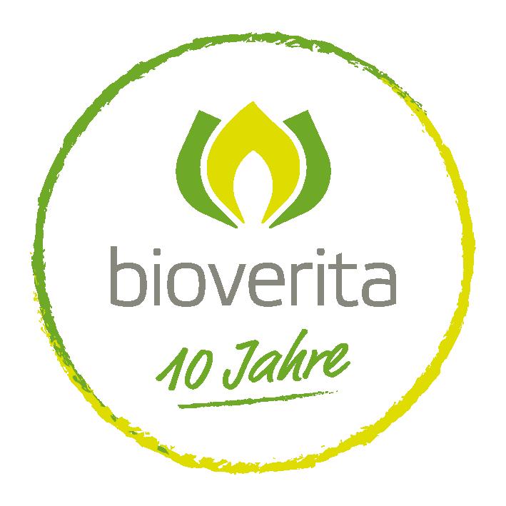 Logo 10 Jahre bioverita